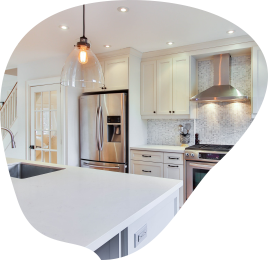 Samyx Domestic Cleaning - Kitchen Banner