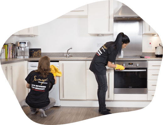 Samyx Cleaning - End Of Tenancy Kitchen Cleaners Banner
