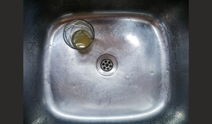 Deodorise and disinfect the drain